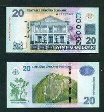 SURINAME - 2019 $20 UNC Banknote