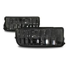Pair of smoked smoke foglamps fog lights foglights fits BMW 3 series E36 all
