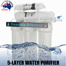 Premium 5 Stage Undersink Water Filter System Driking Home Membrane Purifier AU