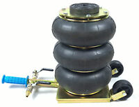 Cric  pneumatique 3 boudins, 3 tonnes RPP3/3