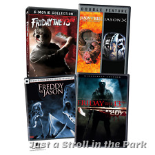 Friday the 13th: Complete Horror Movies Series 1-12 Box / DVD Set(s) NEW!