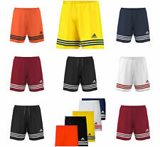 Adidas Mens Entrada Football Sports Training Shorts Gym Running Climalite