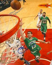 KIRK HINRICH signed CHICAGO BULLS 8X10 PHOTO COA A