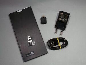 Original Samsung Note 8 Zubehor Paket USB Adapter Kabel Netzteil + Kurzanleitung