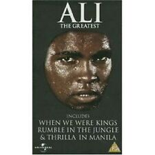 Ali The Greatest by Universal on VHS