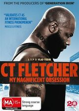 Ct Fletcher: My Magnificent Obsession NEW R4 DVD