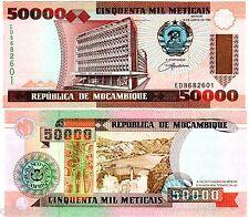 Mozambique AFRIQUE Billet 50000 METICAIS 1993  P138  NEUF UNC