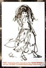 Original Vintage Poster Kriss Romani Joe Eula Gypsy Girl Film Movie Cinema 1970s