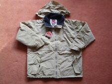 """Kappa Beige Jacket with Hood S/M Chest 48"""""""