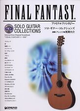 Final Fantasy series Guitar TAB 26 Sheet Music Collection Book w/CD