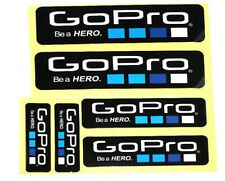 6Pcs OUT-DOOR Waterproof  Logo Stickers Decal For GoPro 4 3+ 3 2 1 Sports Camera