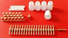 65 Teile lang: PT31 CUT 30 40 50, Plasmaschneider schweißen, Zubehör Ersatz Set
