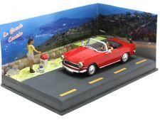wonderful modelcar-diorama  SIMCA OCEANE CABRIOLET 1956 - red - scale 1/43