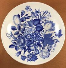 "Portmeirion Harvest Blue 10 3/8"" Pasta Serving Bowl"