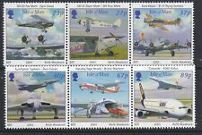 Isle of Man 2003. Centenary of Powered Flight  SG 1067/72 MNH