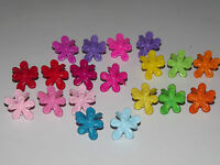 x12 Assorted Mini Daisy Small Plastic Hair Clips Claws Clamps Hair Accessories