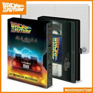Zurück in die Zukunft Premium Notizbuch DIN A5 im VHS-Stil