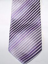 MENS EX-STORE PURPLE TIE IN EXCELLENT CONDITION   #  42