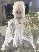 OOAK Custom Repaint Monster High Elvira Mistress of the Light Doll FREE Ship-BIN