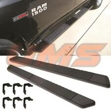 For 2019+ Dodge Ram 1500 Matt Black OE Style Nerf Bar Running Boards Side Steps