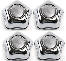 "4x CHROME WHEEL CENTER HUB CAPS FORD EXPLORER RANGER 15"" F57A1A096EB 560-3186"