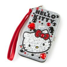 Hello Kitty Bling Smartphone Wristlet Glittery, Crystals, iPhone Case - NEW