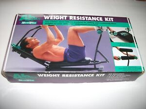 New Nordic Track Ab Works Weight Resistance Kit Complete