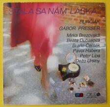 Burčiak, Gábor Presser – Stala Sa Nám Láska...  Vinyl   LP  Pop Jazz