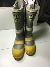 AIRCRAFT RESCUE FIRE FIGHTER BOOTS ARFF FIREFIGHTER TURN OUT FIREMAN 7.5 MENS