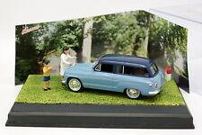 UH La Route Bleue N7 1/43 - Simca P60 Ranch Bleue