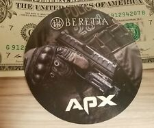 Beretta APX Pistol Authentic Sticker 92F DEVGRU SWAT NATO