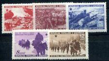 ALBANIEN 1947 437-441  ** POSTFRISCH TADELLOS SATZ 60€(I2042