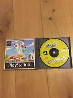 Bomberman Fantasy Race + Manual / Sony Playstation PS1 / PAL UK White Label