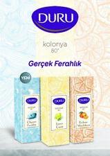 Duru Lemon,Mandarin, Ocean Cologne 80° Aftershave Turkish Limon Kolonya 400ml