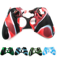 Wireless Controller For XBOX 360 Silicone Rubber Protective Skin Shell Case CP