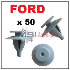 Pour FORD TRANSIT porte intérieure Toit Tapis TRIM CLIPS X10