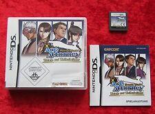 Phoenix Wright Ace Attorney Trials and Tribulations, Nintendo DS Spiel, Neu