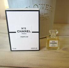 Miniature Mini perfume CHANEL  Nº 5 PARFUM 1.5ml VINTAGE ORIGINAL 100%