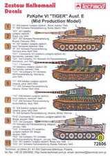 Techmod Decals 1/72 PzKpfw VI TIGER E MID PRODUCTION