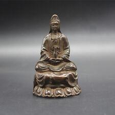 Beautiful Old Tibet Tibetan Bronze Guanyin Bodhisattva statue