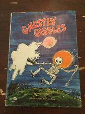 1972 Ghostly Giggles by Ann McGovern Ills by Mort Gerberg 1st Printing Sept 72