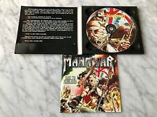 Manowar Hail To England CD Orig. 1984 Digipak Magic Circle Germany Import RARE!