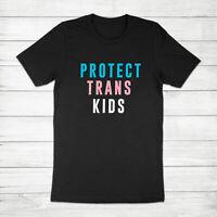 Protect Trans Kids Transgender LGBTQ Equal Rights Equality Unisex Tee T-Shirt