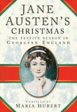 Jane Austen's Christmas: The Festive Season in Georgian England-ExLibrary