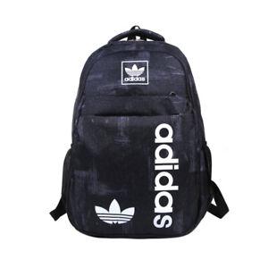 adidas Outdoor Patter Backpack Travel School Bag -  Black/Green