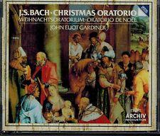 J.S. BACH - CHRISTMAS ORATORIO - JOHN GARDINER -  MINT 2 CD BOX SET
