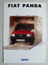 Prospetto FIAT PANDA 750 Fire, 1000 Fire, Selecta, trekking 4x4, 9.1991, 8 pagine
