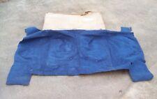 NOS MoPar 1972 1973 Chrysler Newport NewYorker REAR CARPET Blue 4-Door Sedan
