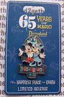Disney Pin Disneyland 65 Years of Magic Mickey Minnie Limited Release
