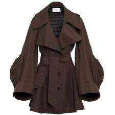 VIKTOR AND ROLF Runway Oversized Sleeves Flared Trench Coat